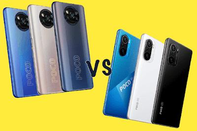 مقارنة بين Xiaomi Poco X3 Pro و Xiaomi Poco F3 مقارنة بين  شاومي بوكو اكس 3 برو و شاومي بوكو اف3 مقارنة شاومي Xiaomi Poco X3 Pro و Xiaomi Poco F3