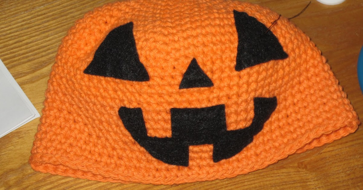 Olena S Crafts Child Pumpkin Hat Free Crochet Pattern