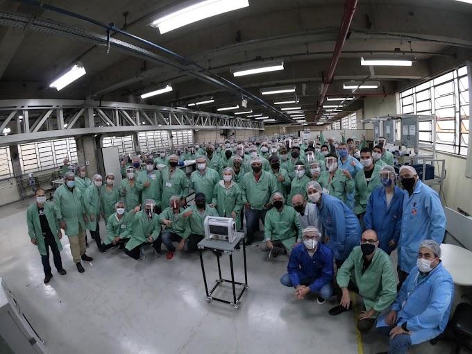 Mercedes-Benz se une a empresas para aumentar produção de respiradores na KTK