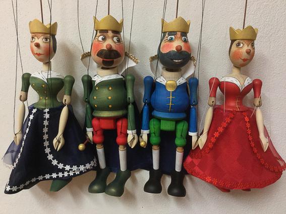 Marionetas de Praga. 5 regalos de San Valentin