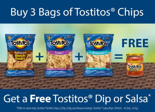 Buy 3 Get 1 Free Tostitos Coupon