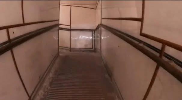 ramp inside hawa mahal