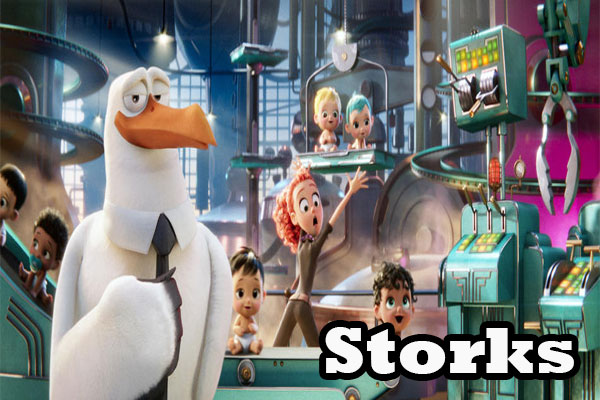 Download Film Storks (2016) 720p BluRay Subtitle Indonesia