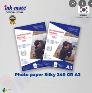 photo paper silky 240 GR A3 Inkmate