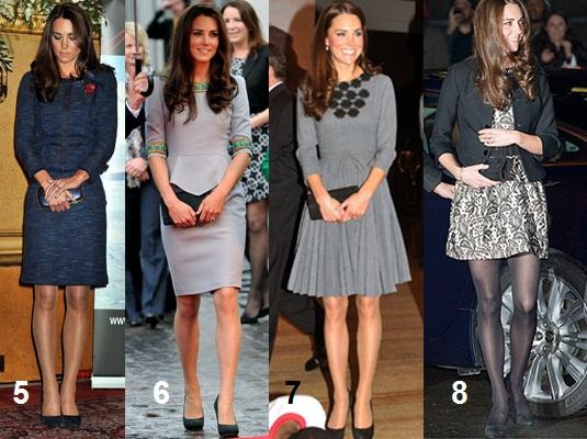 99f6ffa04d Nesse look a Kate foi clicada com um conjuntinho de tweed marinho
