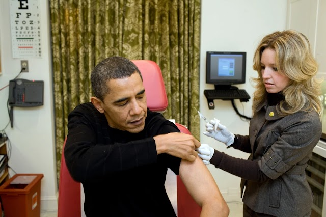 Former President Barack Obama urges skeptics to trust COVID vaccine because 'wealthy and powerful' are taking it