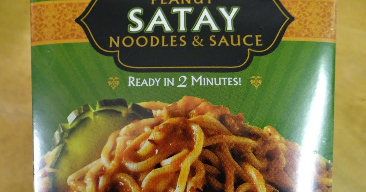 Trader Joe\'s 365: Day 40 - Peanut Satay Noodles and Sauce