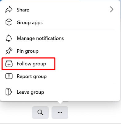 Refollow Facebook Group