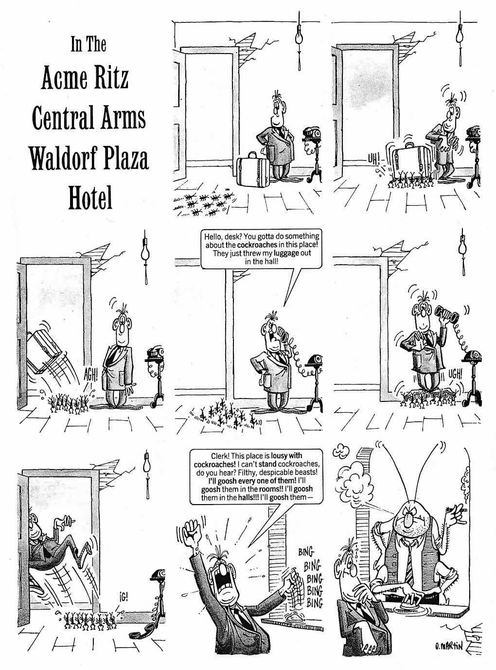 a Don Martin cartoon for MAD