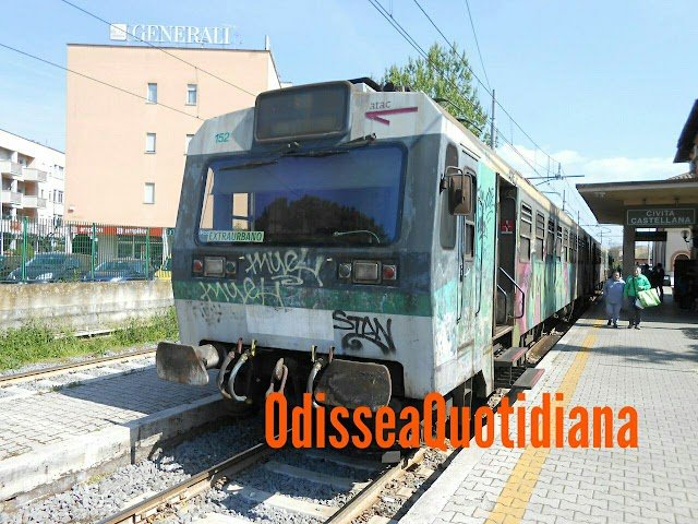 Ferrovia Regionale Roma-Viterbo - Giorni 15 e 16 interruzione Montebello-Catalano per lavori