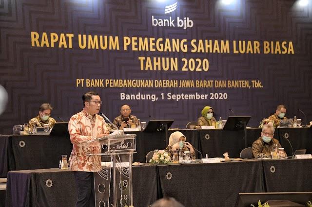 Ridwan Kamil : bank bjb Harus Jadi Top of Mind Warga Jabar Soal Perbankan dan Finansial