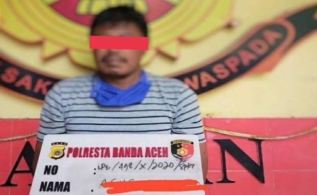 BREAKINGNEWS | Tega Setubuhi Anak Tirinya, Pria Aceh Ini Dibekuk Polisi