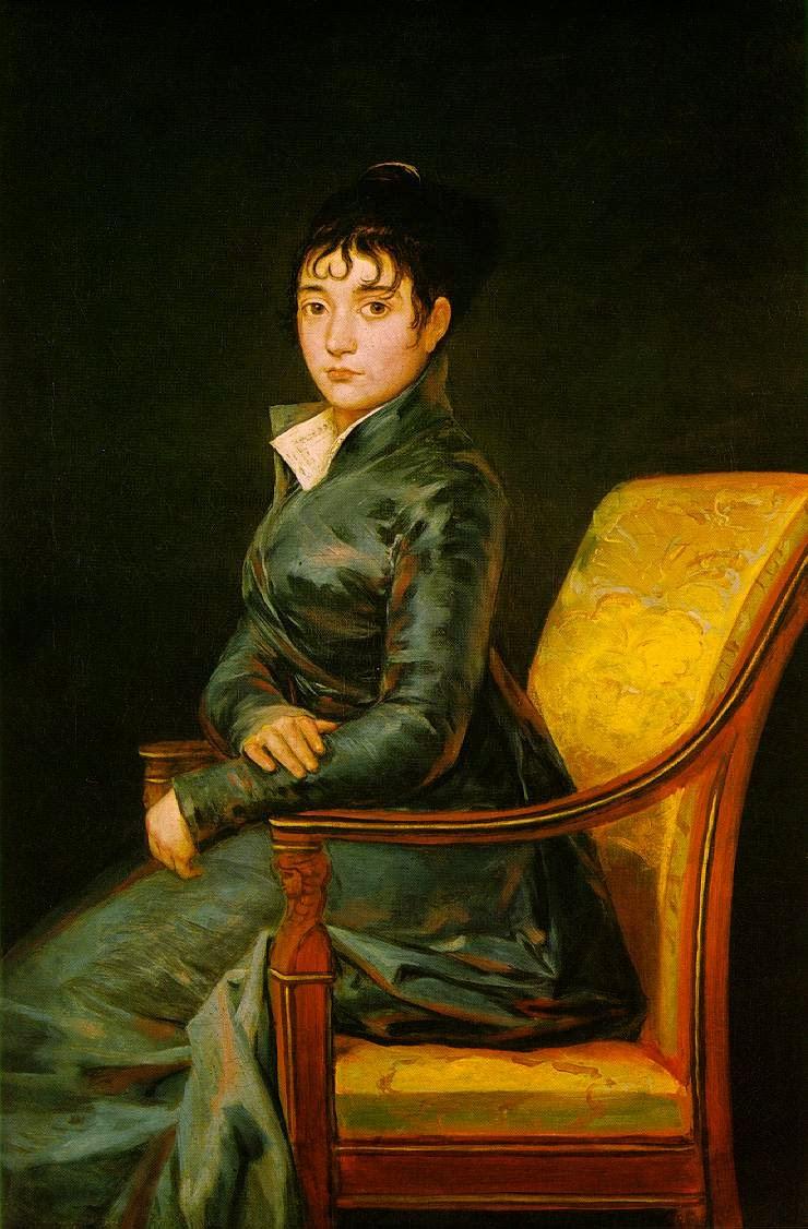 Dona Teresa Sureda - Goya, Francisco e suas pinturas ~ Foi um importante pintor espanhol da fase do Romantismo