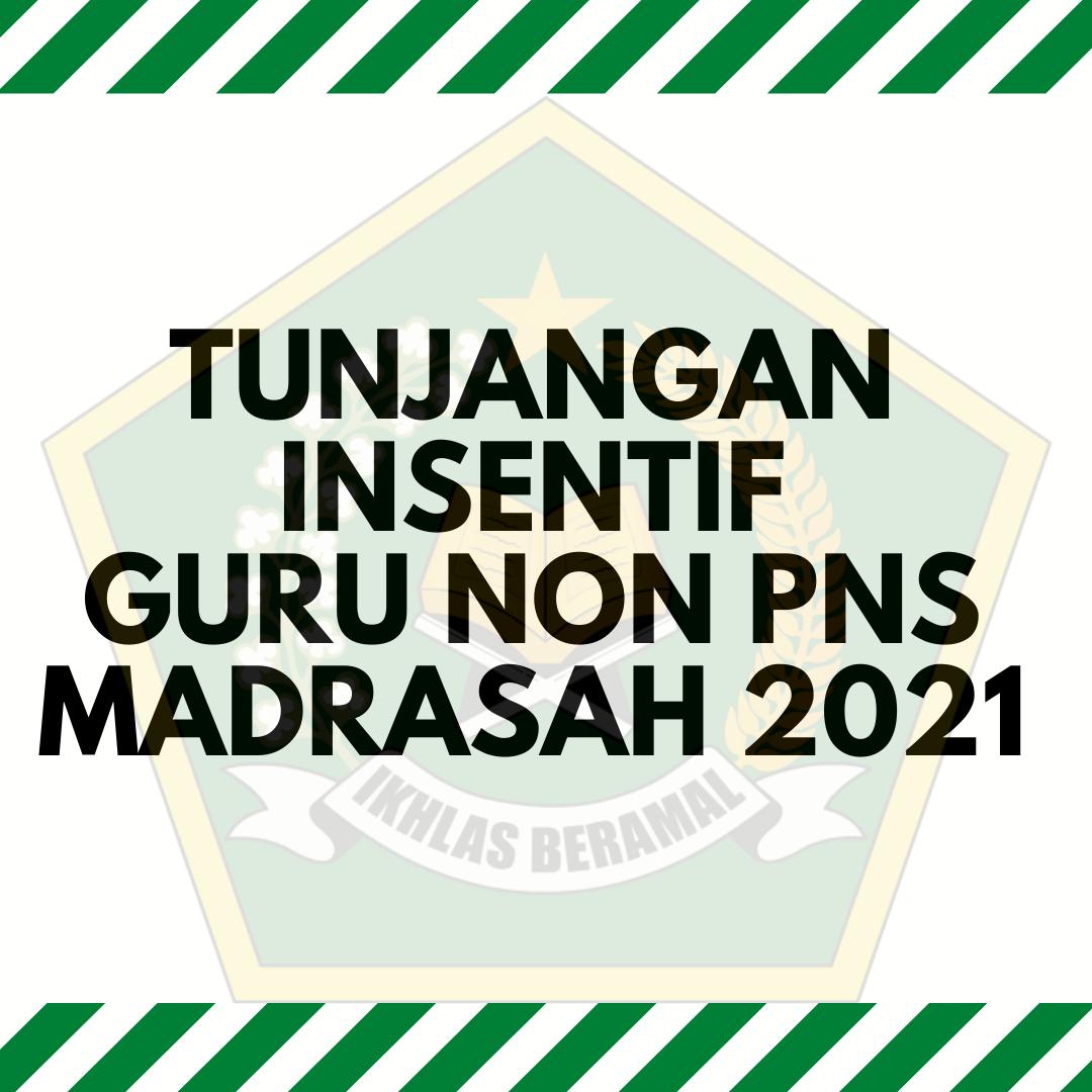 gambar tunjangan insentif guru non pns 2021