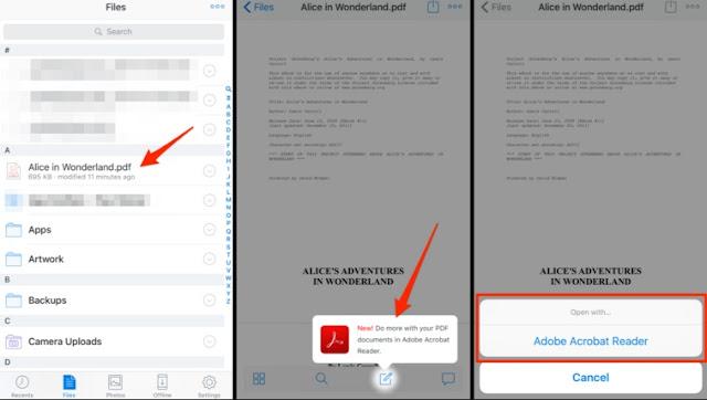 Cara mengedit file PDF pada iPad atau iPhone