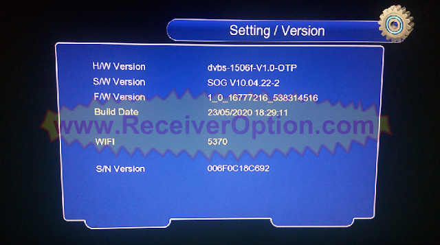 DISCOVERY X6 DR-555HD 1506F 512 4M NEW SOFTWARE WITH SUPER SHARE OPTION