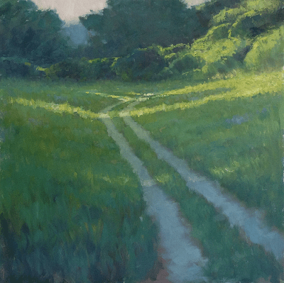 High Summer oil painting by Steve Allrich