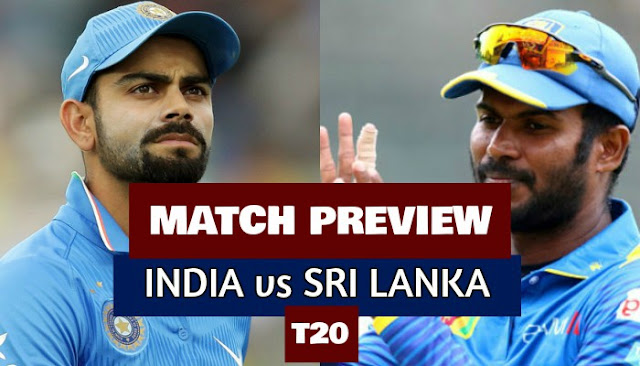 India vs Sri Lanka 1st T20 2017 Match Preview