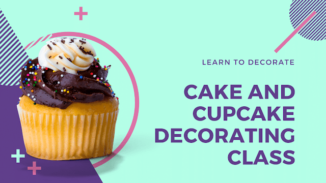 Cake and cupcake decorating class begins on Monday