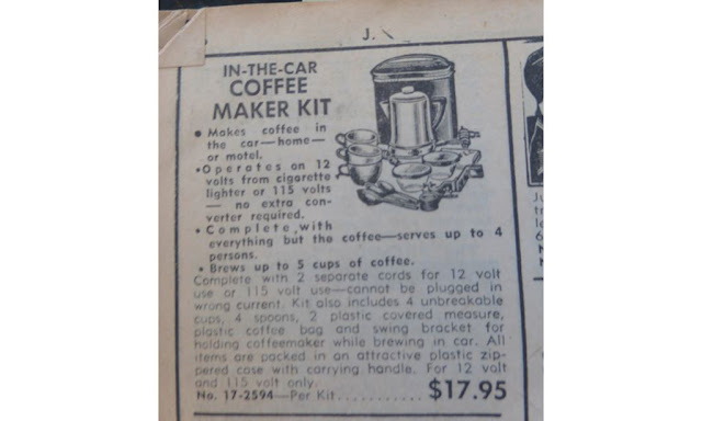 coffee maker kit