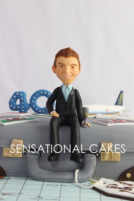 suitcase bag cake singapore
