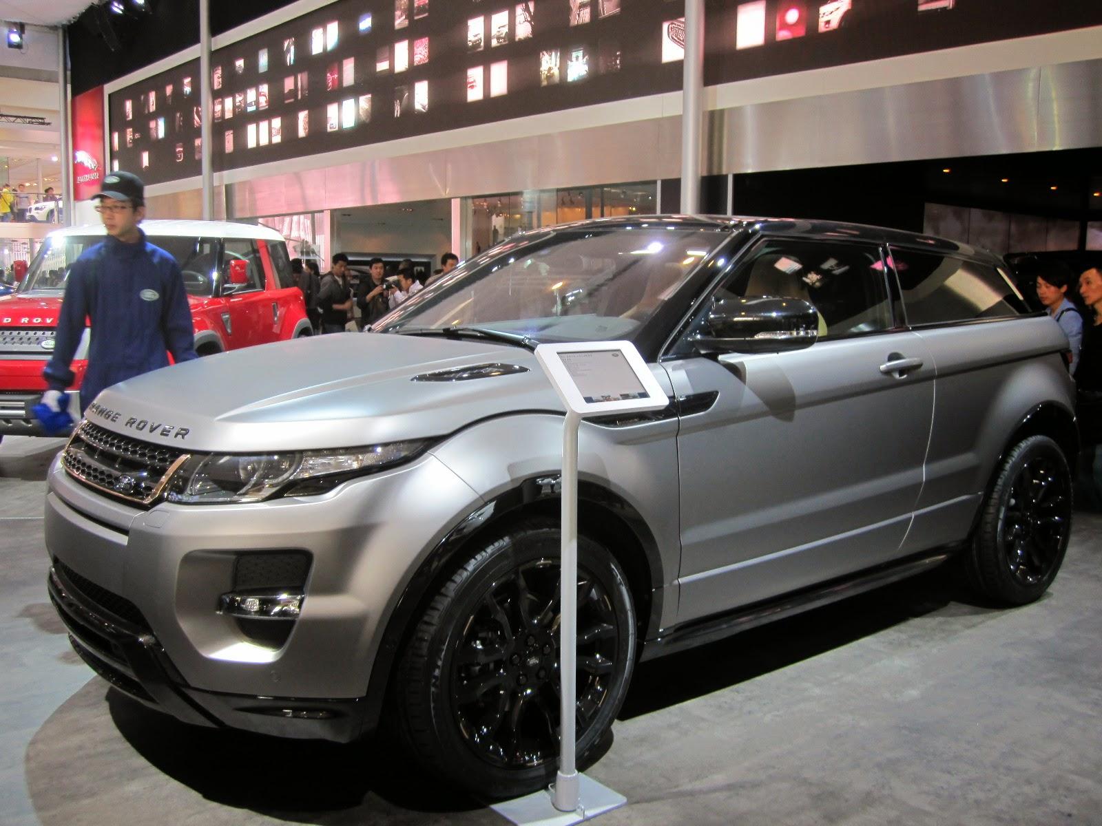 Range Rover Evoque Special Edition With Victoria Beckham at Auto