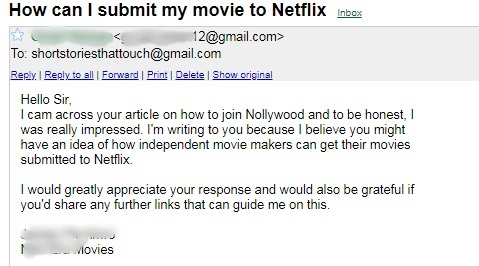 How to Submit Your Movie To Netflix
