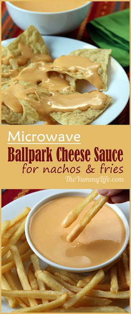 Microwave Ballpark Cheese Sauce For Nachos & Fries