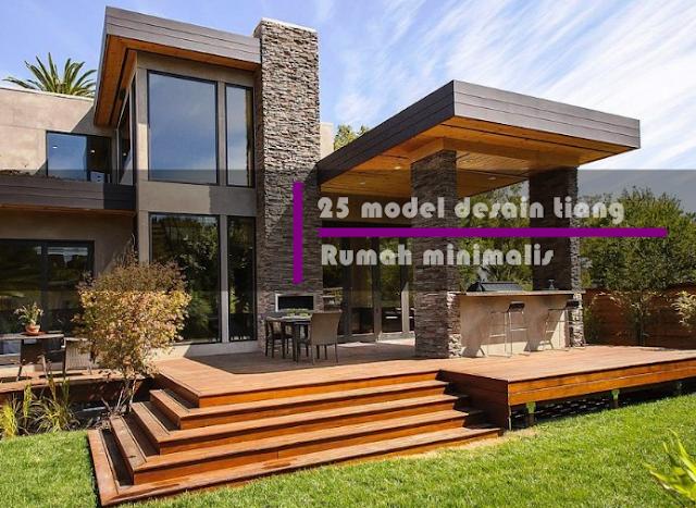 25 model desain tiang rumah minimalis klasik, modern & sederhana terbaru