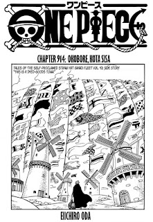 Update! Baca Manga One Piece Chapter 914 Full Sub Indo