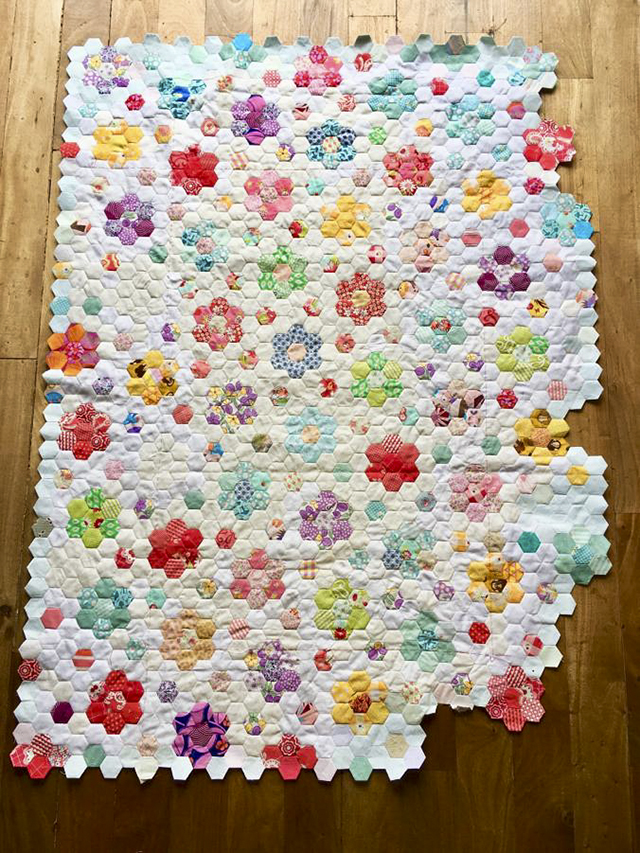 hexies quilt tutorial english paper piecing