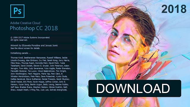 Adobe Photoshop CC 2018 19.1.5.61161 x64 x86 Free Download
