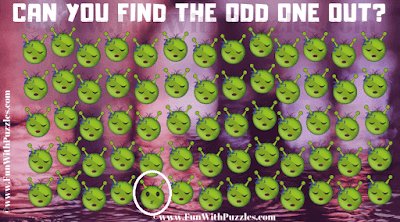 This is an answer of Odd One Out Emoji Picture Puzzle