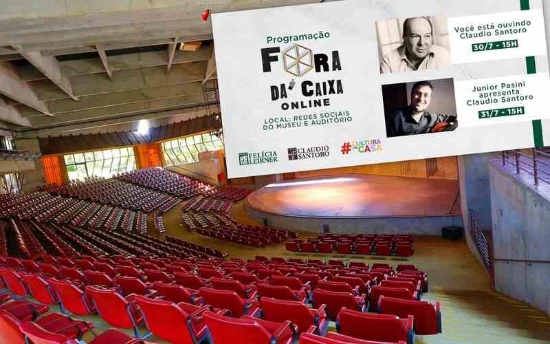 Conheça mais sobre Claudio Santoro na programação virtual deste fim de semana do Museu Felícia Leirner e Auditório Claudio Santoro, instituições da Secretaria de Cultura e Economia Criativa do Governo do Estado de São Paulo, geridas pela ACAM Portinari.