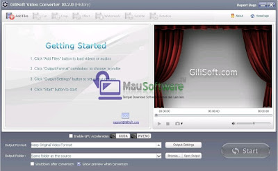 cara mengconvert atau mengubah format video ke format lainnya dengan dilisoft video converter terbaru