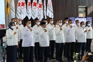 Yusuf Kalla Lantik Pengurus dan DK PMI Lampung 2020-2025