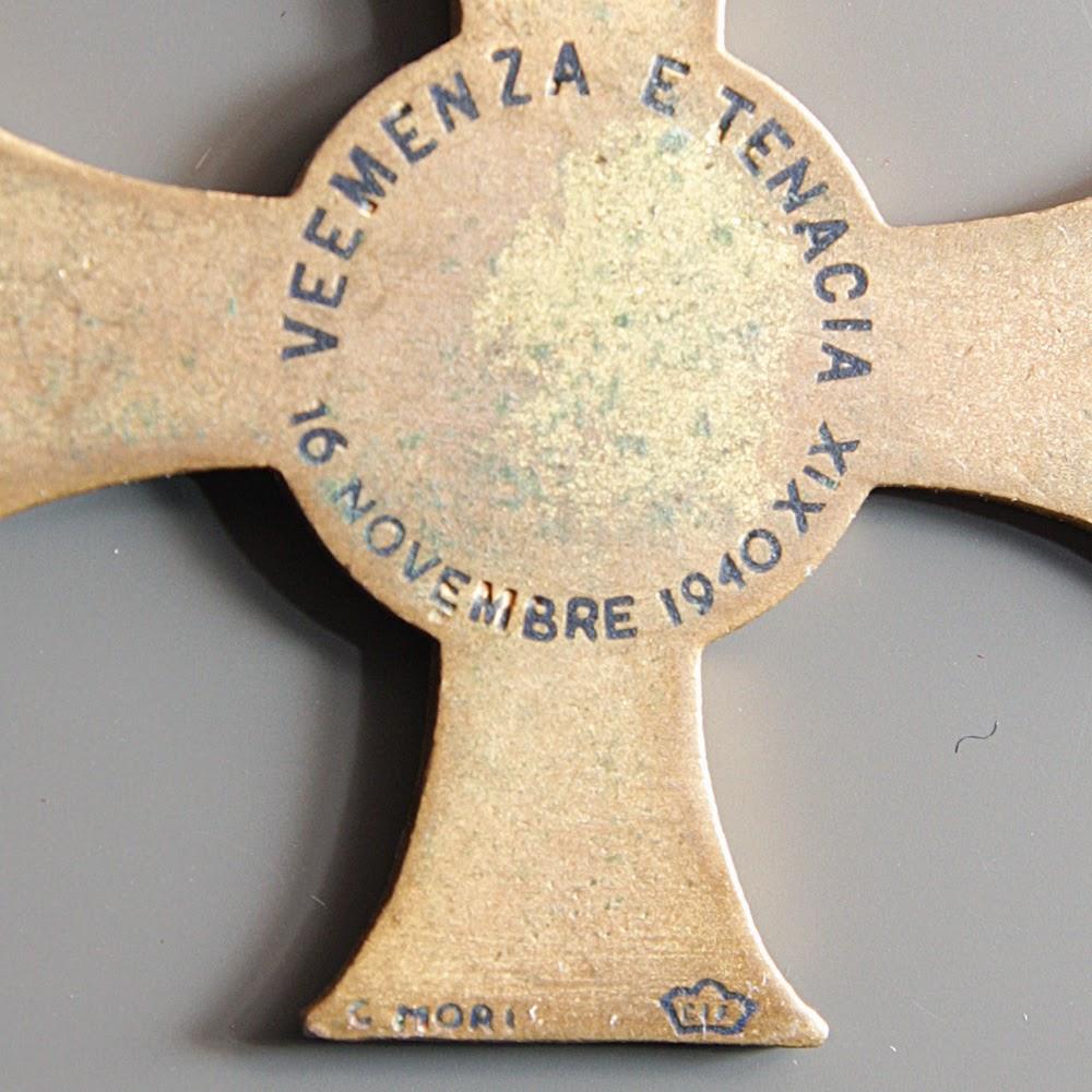 particolare croce 11 undicesima armata mori retro