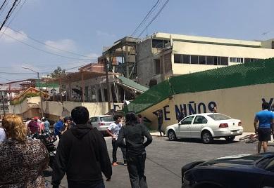 Bulo sobre demoliciones anticipadas en el Colegio Rébsamen