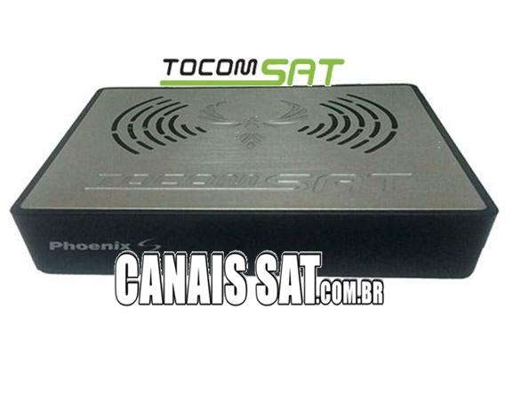 Tocomsat Phoenix S Atualização Modificada 75w ON - 05/03/2021