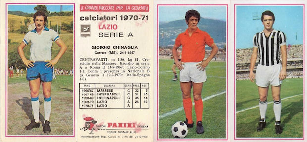 PROSDOCIMI -Rec Figurina-Sticker 14b IL BUCO CALCIATORI PANINI 1970-71