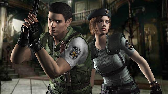 La historia de Resident Evil Jill chris