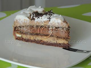 Torta sa orasima i pudingom o vanile