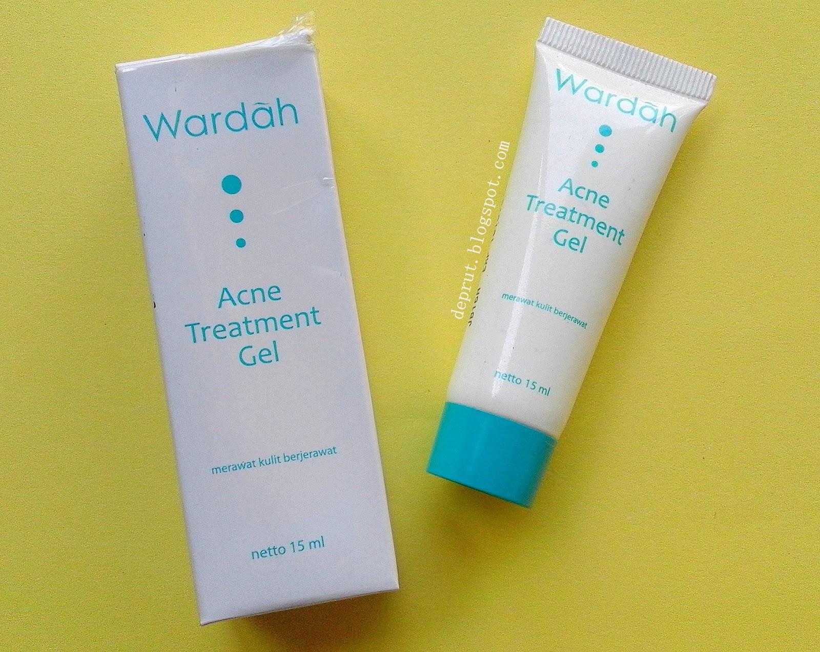 Devi Purwati Review Wardah Acne Treatment Gel Series Paket Isi 6