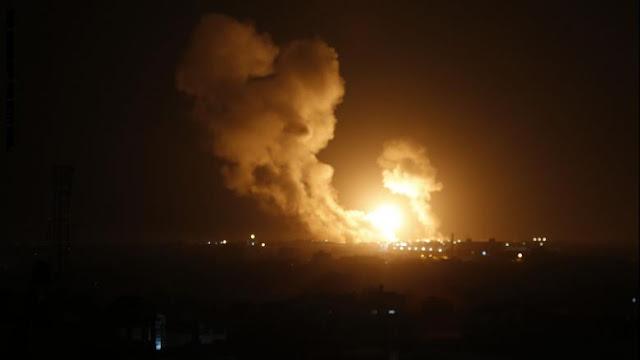 """إسرائيل تعلن استهداف مواقع لـ""""الجهاد الإسلامي"""" في سوريا وقطاع غزة"""
