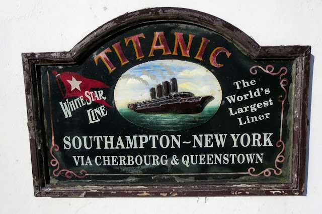 Cork to Cobh by Train: Historic Titanic advertisement