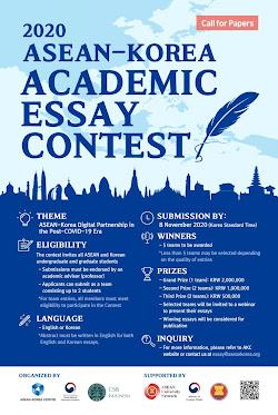 2020 ASEAN-Korea Academic Essay Contest