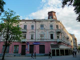 Івано-Франківськ. Площа Адама Міцкевича, 1