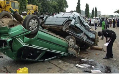 2 Killed, Others Injured As 5 Vehicles Collide In Freak Accident At Onitsha
