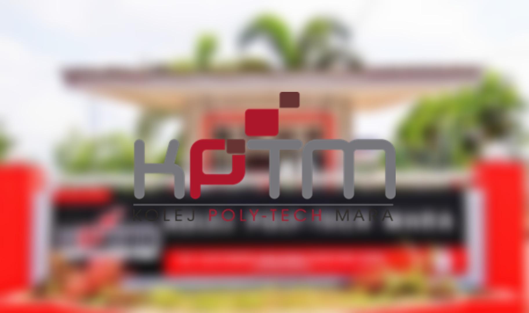 Permohonan KPTM 2021 Online (Kolej Poly-Tech MARA)