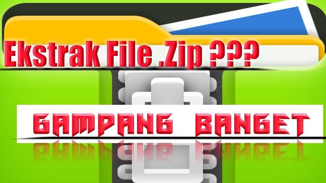 Cara Membuka File Zip yang di Password di Android tanpa Root